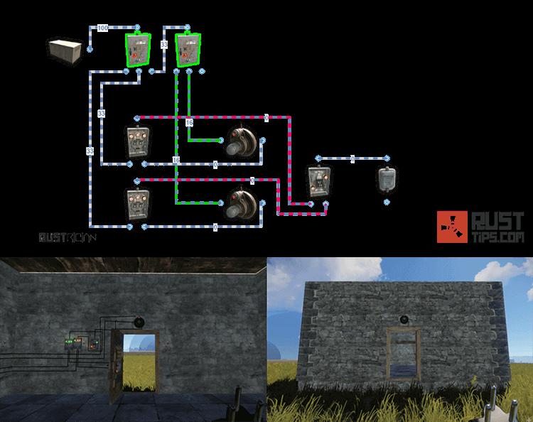 Rust Guides | 2-way Door Controller