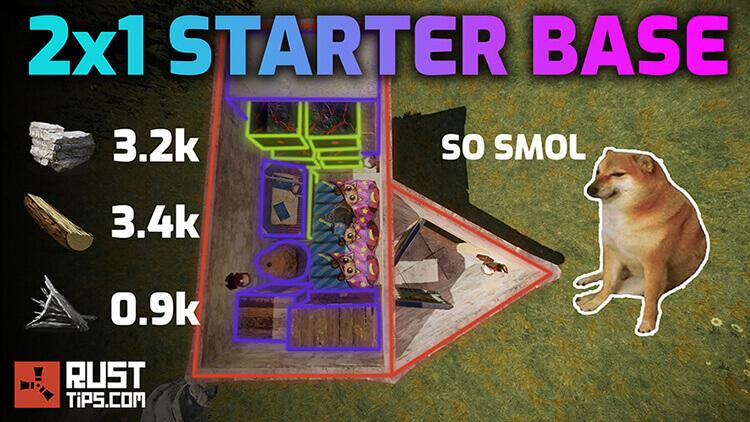 Rust Guides | 2x1 Starter Base