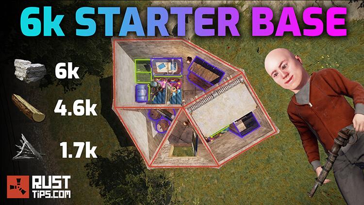 Rust Guides | 6k Stone Starter Base