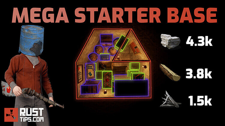 Rust Guides | Mega Starter Base