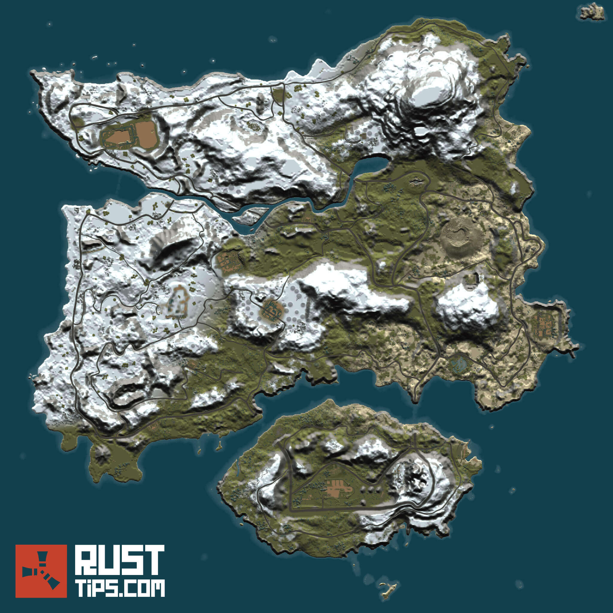 Rust Guides | PUBG Rust Map | Free download