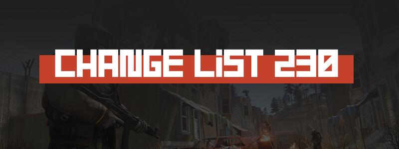 Rust Change list 230
