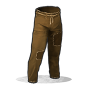 Burlap Trousers