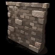High External Stone Wall