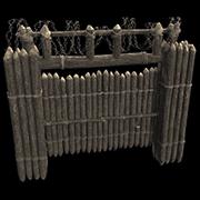 High External Wooden Gate