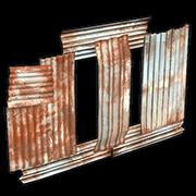 Metal Vertical Embrasure
