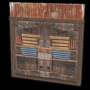 Sheet Metal Double Door