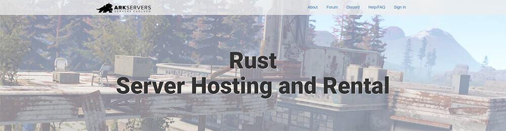 Top 10 Rust Server Hosting Providers - ArkServers