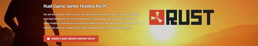 Top 10 Rust Server Hosting Providers - GTXGaming