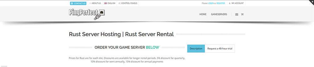 Top 10 Rust Server Hosting Providers - PingPerfect