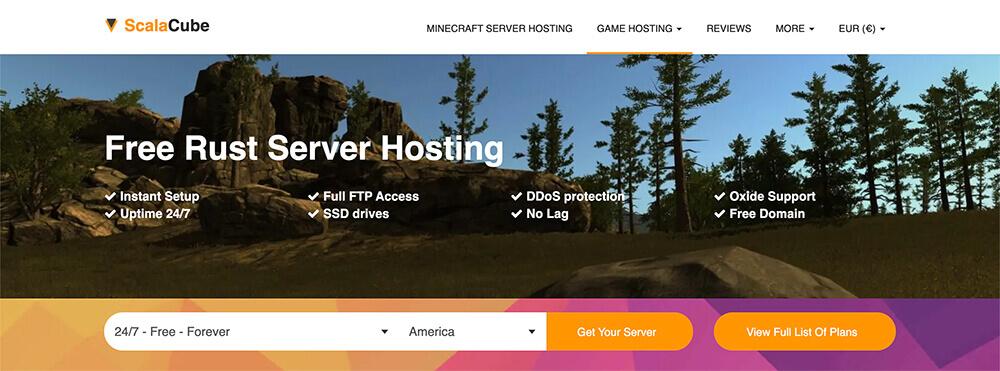 Top 10 Rust Server Hosting Providers - ScalaCube