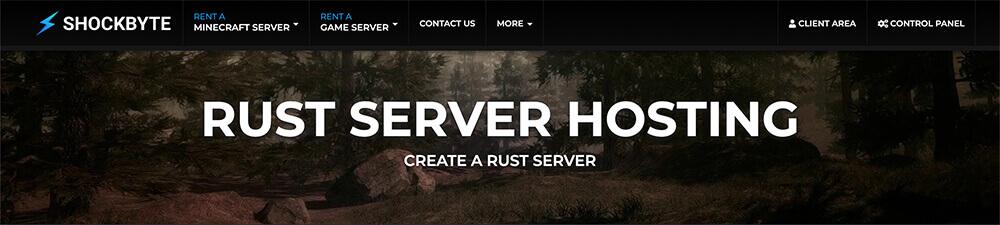 Top 10 Rust Server Hosting Providers - Shockbyte