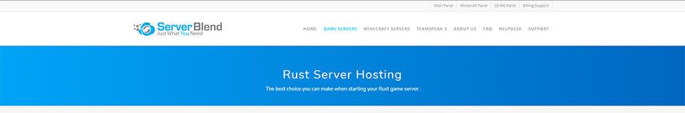 Top 10 Rust Server Hosting Providers - ServerBlend
