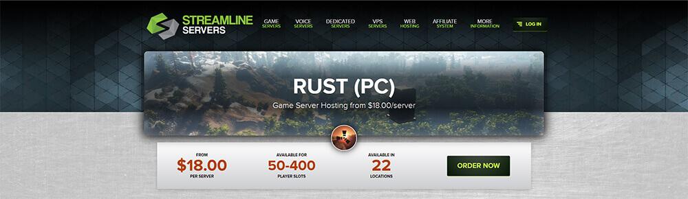Top 10 Rust Server Hosting Providers - Streamline Servers