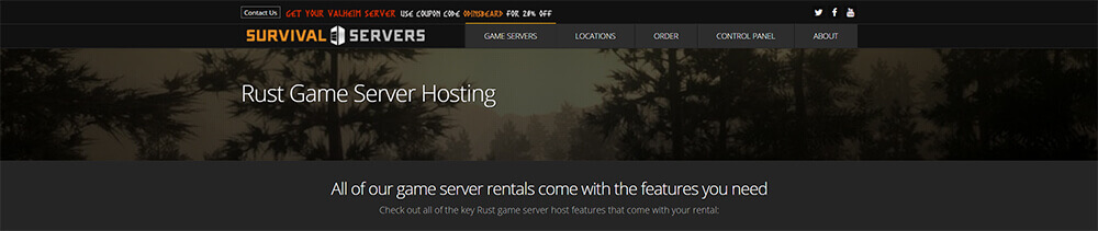 Top 10 Rust Server Hosting Providers - Survival Servers