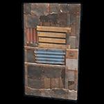 Rust - Sheet Metal Door