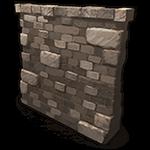 Rust - High External Stone Wall