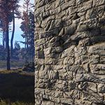 Rust - Stone Wall