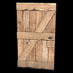 Rust - Wooden Door