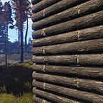 Rust - Wooden Wall